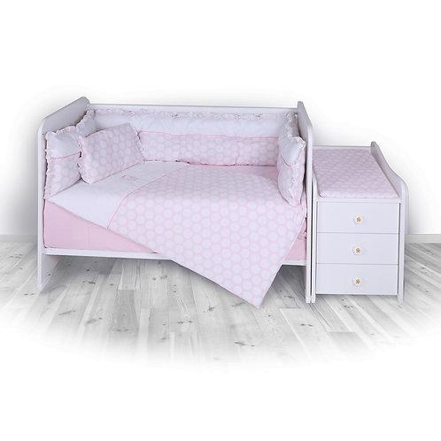 Σετ προίκας μωρού για κρεβάτι μωρού Lorelli Trend