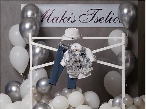 Βαπτιστικό Σετ για Αγόρι Makis Tselios 5045
