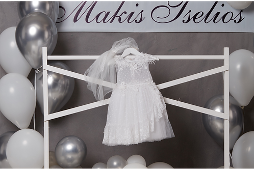 Βαπτιστικό Σετ για Κορίτσι Makis Tselios 5019