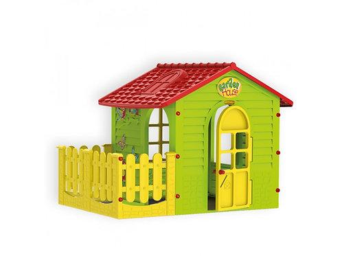 Σπιτάκι Κήπου με Φράχτη Mochtoys 10839