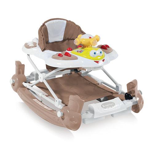 Στράτα Lorelli bertoni Baby walker-swing HEICOPTER  με eurobase Μπεζ