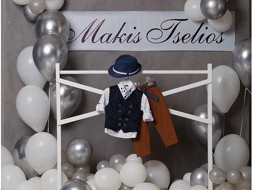 Βαπτιστικό Σετ για Αγόρι Makis Tselios 5041
