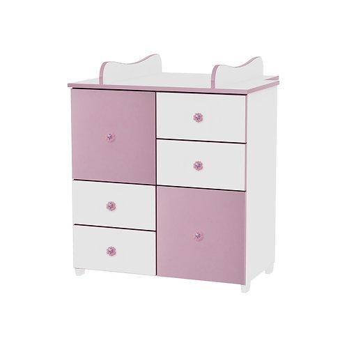 Αλλαξιέρα - Συρταριέρα Lorelli Bertoni dresser CUPBOARD  Ροζ