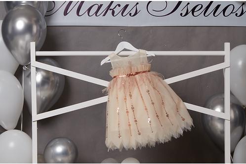 Βαπτιστικό Σετ για Κορίτσι Makis Tselios 5018