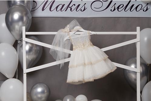 Βαπτιστικό Σετ για Κορίτσι Makis Tselios 5032