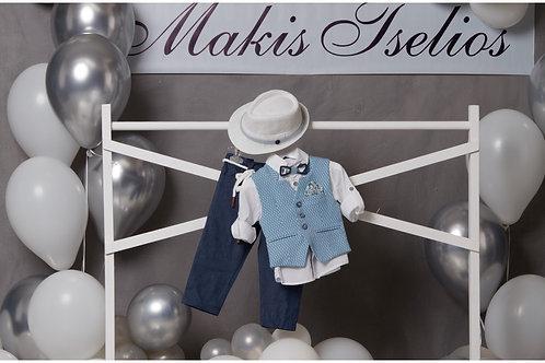 Βαπτιστικό Σετ για Αγόρι Makis Tselios 5040