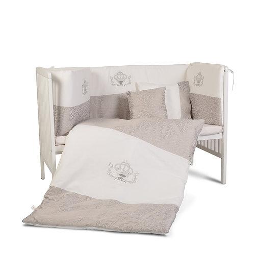 Σετ προίκας μωρού για κούνια - κρεβάτι 9 τμχ. Cangaroo Royal
