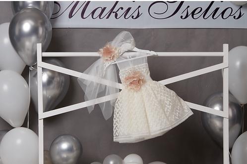 Βαπτιστικό Σετ για Κορίτσι Makis Tselios 5022