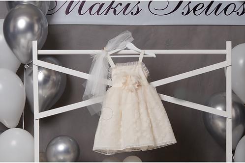 Βαπτιστικό Σετ για Κορίτσι Makis Tselios 5023