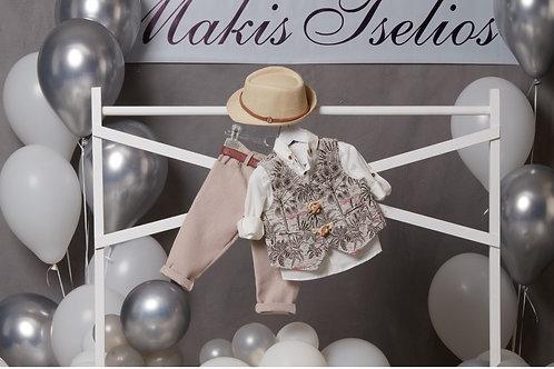 Βαπτιστικό Σετ για  Αγόρι Makis Tselios 5047