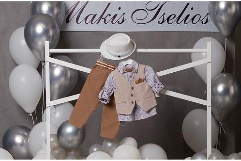 Βαπτιστικό Σετ Makis Tselios 5046