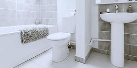 Clean bathroom Hudson