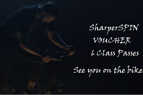 SharperSpin Voucher 6 Classes