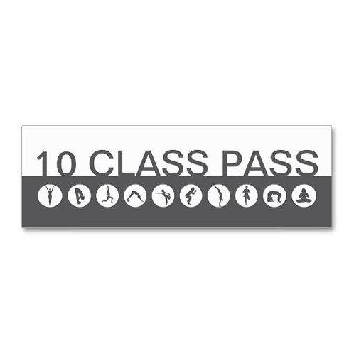 Yogi & Pilates 10 Class Pass