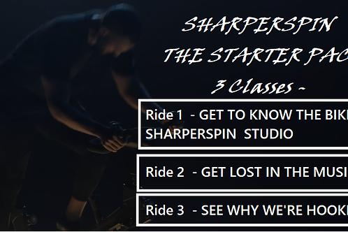 SHARPER SPIN STARTER PACK