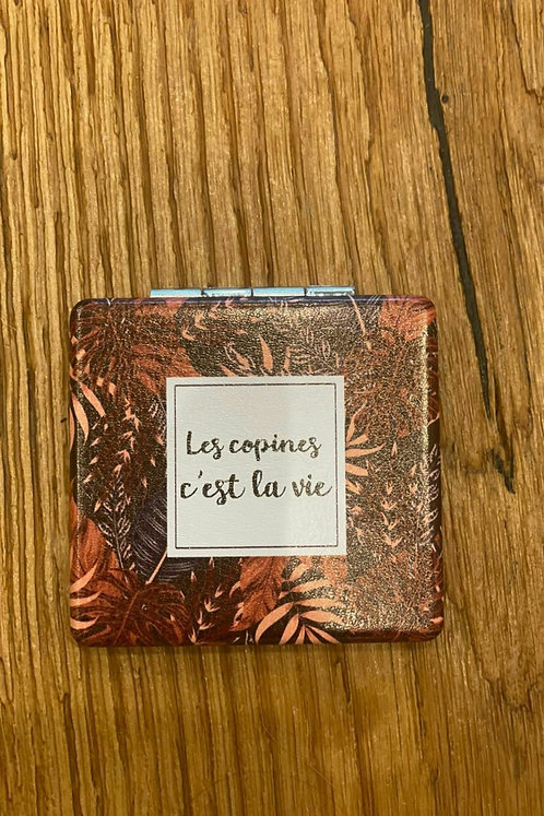 """Miroir """"Les copines c'est la vie"""""""