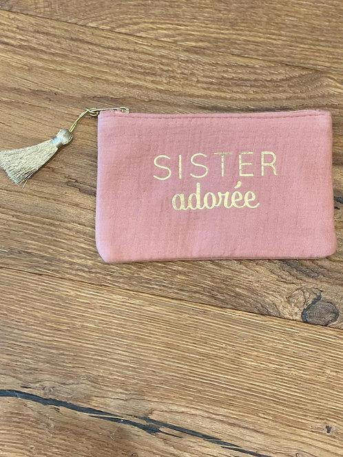 "Pochette ""Sister adorée"""