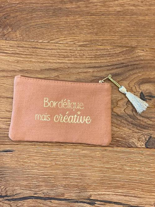"""Pochette """"Bordélique mais créative"""""""