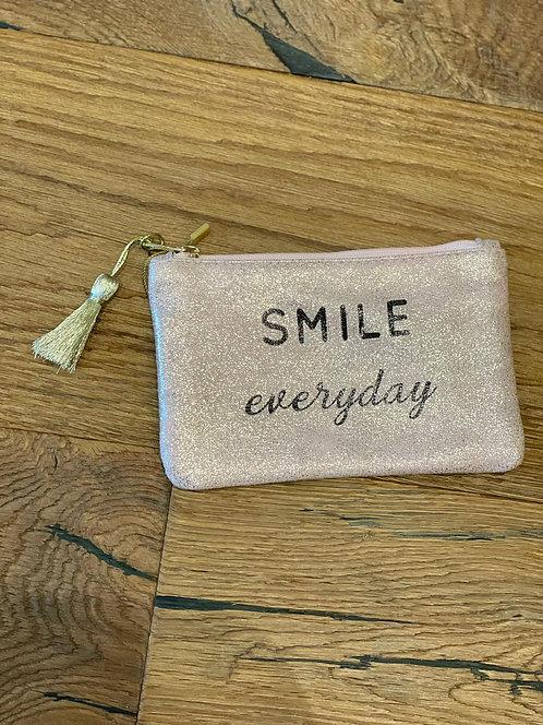 """Pochette """"Smile everyday"""""""