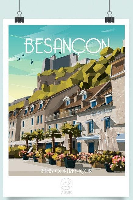 Affiche Besançon