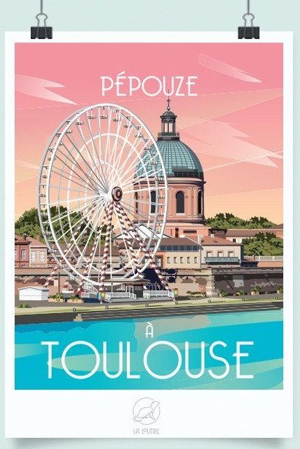 Affiche Toulouse