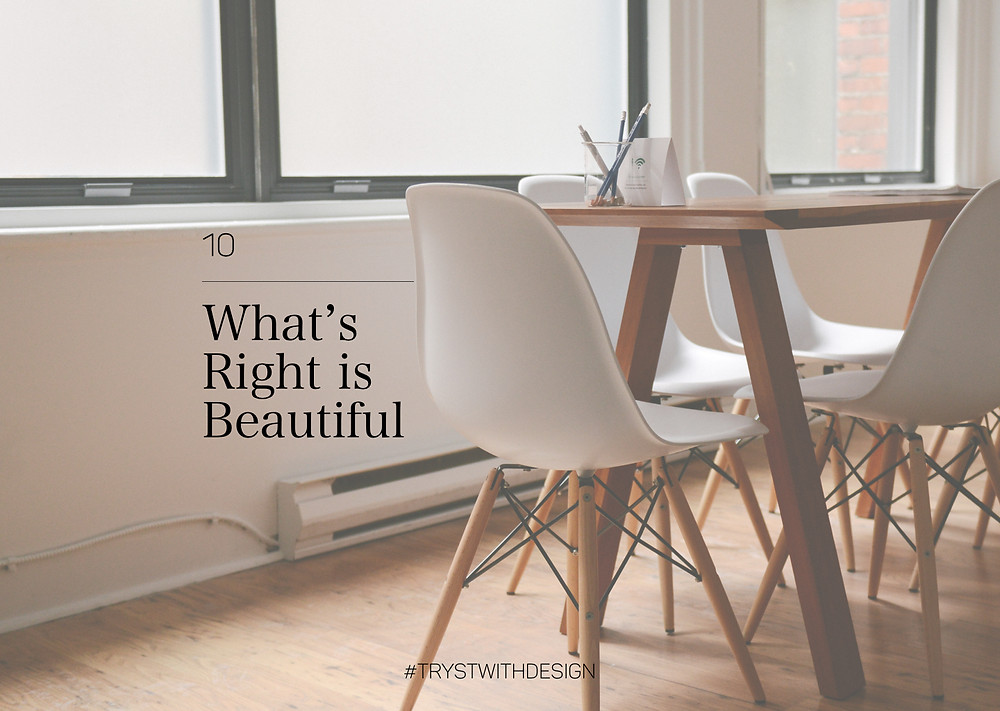 Post#10 : What's right is beautiful
