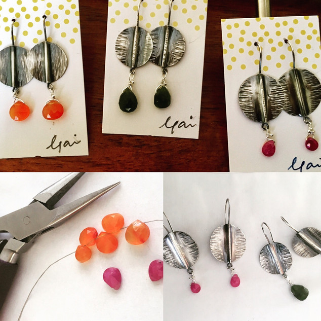 Fold Form Earrings Ready to Sell