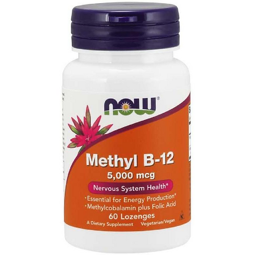 METHYL B-12 5,000mcg