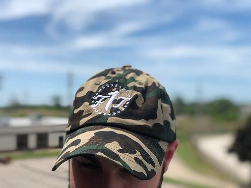 Camo F1T Dad Hat