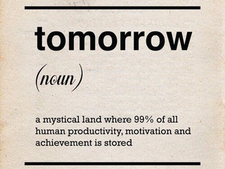 Procrastination & How it can cost you