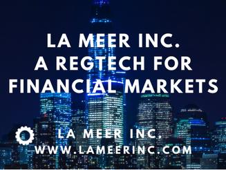 RegTech Profiles: Laxmi Ramanath - La Meer - Governance, Risk and Compliance (GRC)