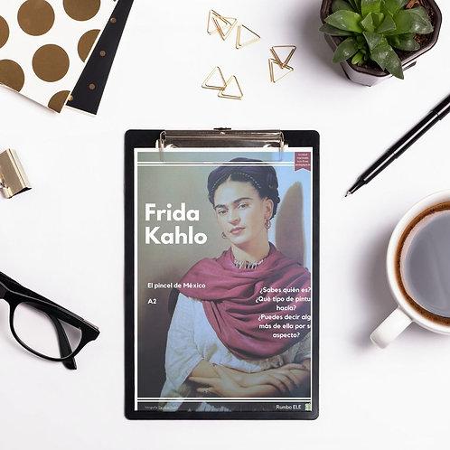 """Frida Kahlo (A2) - Introduce el código """"CEJA"""" y descárgalo gratis"""
