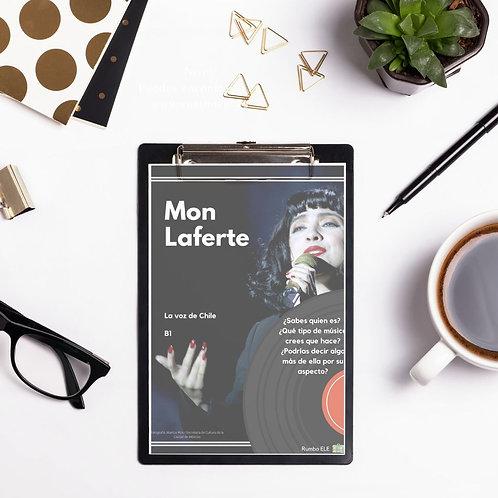 """Mon Laferte (B1) - Introduce el código """"MON"""" y descárgalo gratis"""