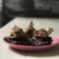 #weihnachtsmuffins #pflaumenzimtcreme #g
