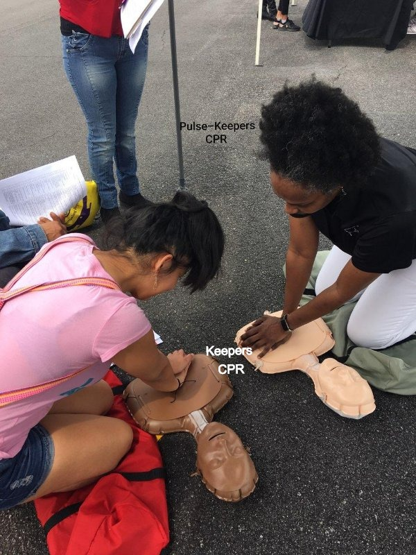 Learn CPR on the street