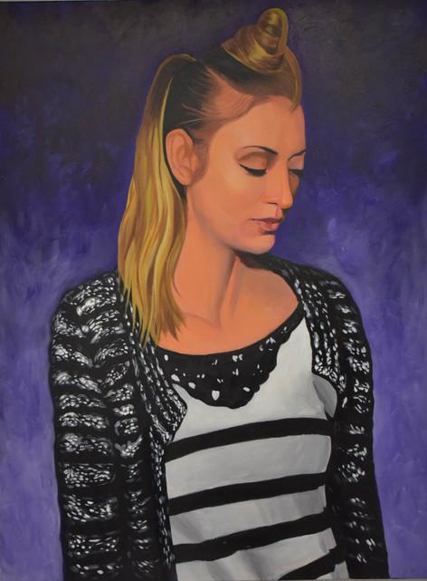 A Women Looking Down-$500