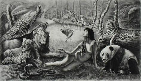 Human and Nature 1-$5,000