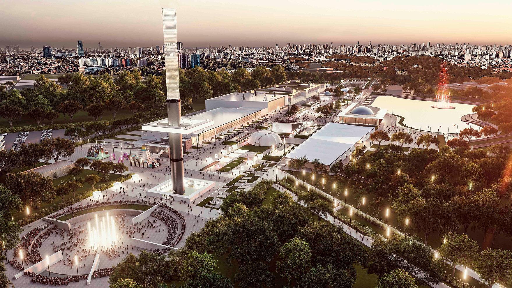 Expo 2023 Buenos Aires mOOz Arquitectura Aisenson Arquitectos Real State