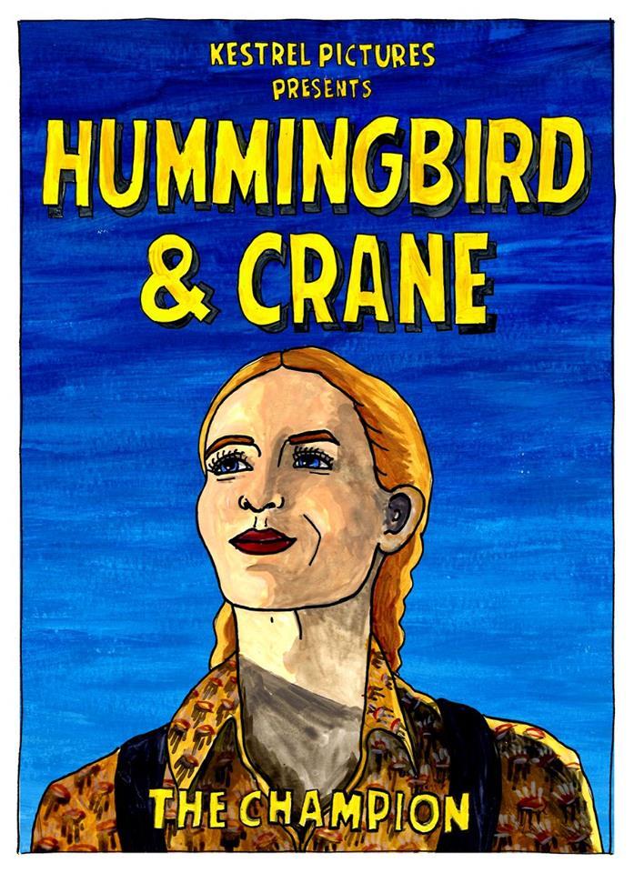 Hummingbird and Crane