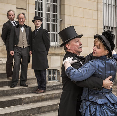 Comte, comtesse, bal, grand reveillon, Champs sur Marne, château