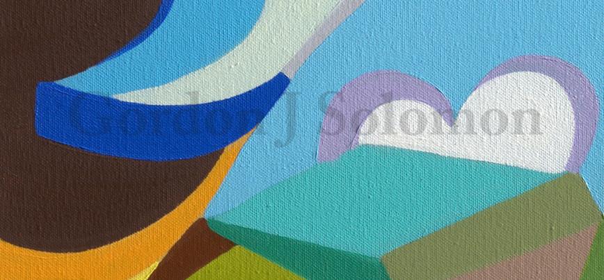 Skip Rope-Triptych  3 pieces  12x24 #1.j