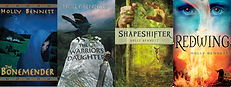 Holly Bennett novel covers