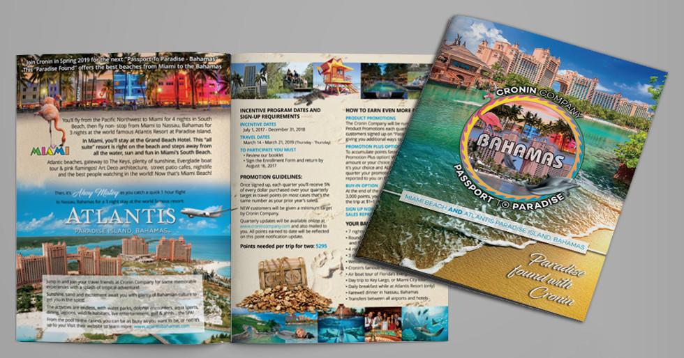 "Cronin ""Passport To Paradise"" Brochure"