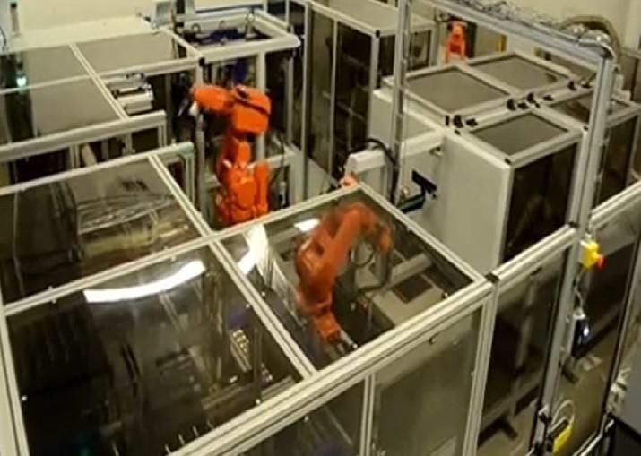 Broušení/leštění roboty ABB