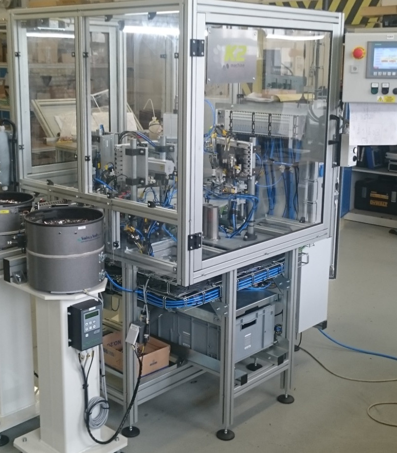 kompletace elektrospínací techniky