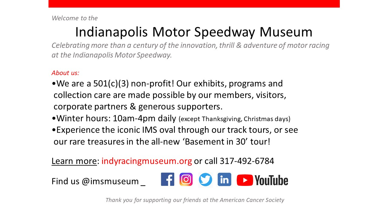 IMS Museum 101 for ACS