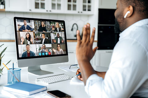 Aug 21 - Video call, online conference. Over shoulder view.jpg