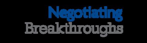 Negotiating Breakthroughs