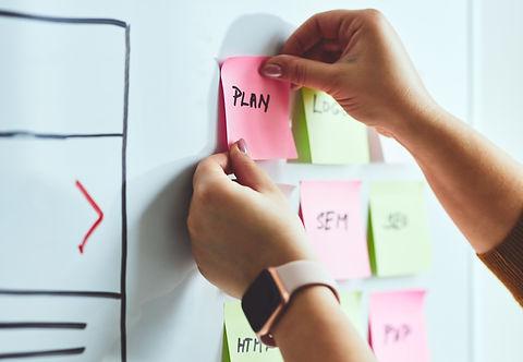June 21 - web designer planning website