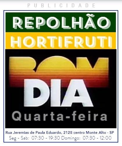 BOM DIA! QUARTA-FEIRA - REPOLHAO.COM.BR.